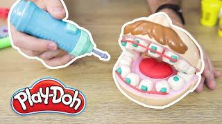 FACCIAMO I DENTISTI con DOTTOR TRAPANINO - Play-Doh