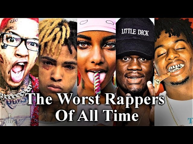 Top 50 - The Worst Rappers Of All Time [Dishonorable Mentions - Part 3]