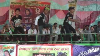 Nepali boys Durgesh Dance by raj tharu