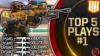 Black Ops 4: Top 5 Plays of the Week #1 -