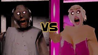 Granny vs Barbie Granny