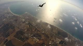 Skydive shomrat dive #52: high opening