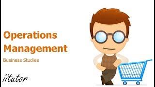 √√ Strategic role of operations management | iitutor