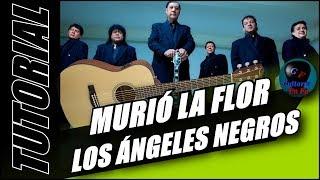 Cómo tocar Murió la Flor en guitarra - Los Ángeles Negros - (TUTORIAL) Temporada 3