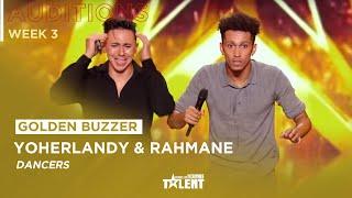 GOLDEN BUZZER ! Yoherlandy and Rahmane get