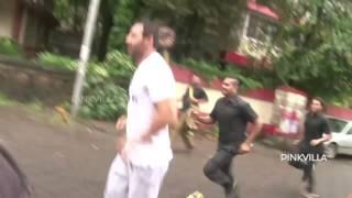 Spotted! John Abraham Jogging at Bandra