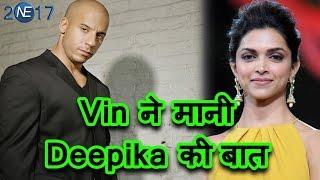 Film Xxx Promotion के लिए Deepika ने Vin Diesel को दिया Invitation
