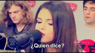 Selena Gomez - Who Says (Traducida al español)