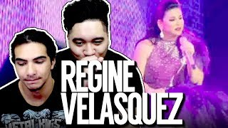 Regine Velasquez Cries While Singing A Song For Her Late Father [R3.0 Concert] REACTION!!!