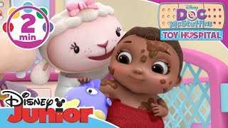 Doc McStuffins: Toy Hospital | Baby Bath Time | Disney Junior UK
