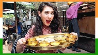 INSANE 30 DISHES RAJASTHANI THALI: MUST SEE CRAZY INDIAN FOOD BUFFET IN BENGALURU | TRAVEL VLOG IV