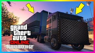 GTA ONLINE GUNRUNNING DLC NEW FEATURES, UPDATES, CHANGES & THINGS YOU DIDN'T KNOW THAT WERE ADDED!