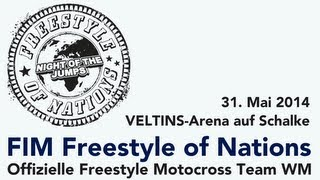 FIM Freestyle of Nations - Teaser