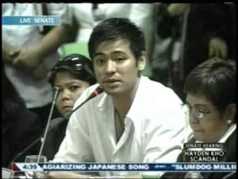 Katrina Halili Hayden Kho Senate hearing 3