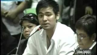 Katrina Halili -  Hayden Kho, Senate hearing   3