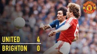 Manchester United 4-0 Brighton (1983) | FA Cup Classic | Manchester United