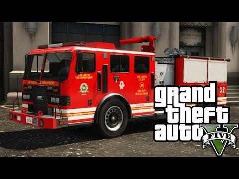 Grand Theft Auto V Online | FURAM MASINA DE POMPIERI | #196 w/Andy