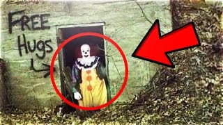 Top 15 SCARIEST Clown Sightings Caught on Youtube! (Creepiest Killer Clown Sightings On Camera)