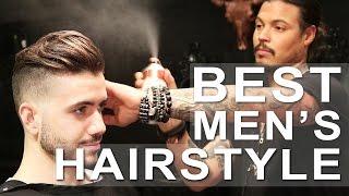BEST MEN'S HAIRSTYLE 2017 - Ft. Daniel Alfonso | Men's haircut | Alex Costa