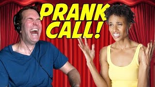 EPIC MOVIEFONE VOICE PRANK CALL!
