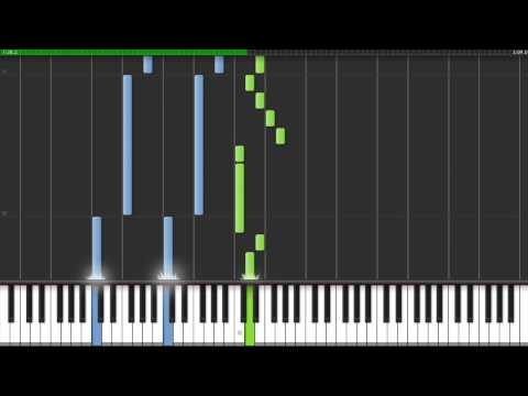 How to play Wavin Flag by K'naan on piano