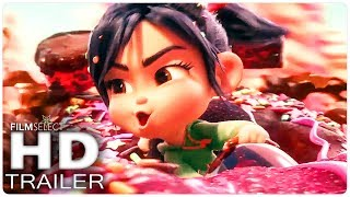 WRECK IT RALPH 2: All Trailer Clips in Chronological Order (2018)