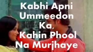 Ankhiyon Ke Jharokhon Se-Karaoke & Lyrics(including Sad version)