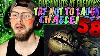 Vapor Reacts #833 | [FNAF SFM] FIVE NIGHTS AT FREDDY'S TRY NOT TO LAUGH CHALLENGE REACTION #58