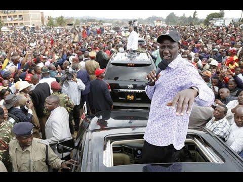 Uhuru and Ruto put on brave faces in Kiambu appearance