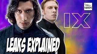 Star Wars Episode 9 Leaks Explained | Kylo Ren