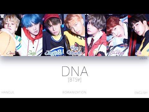 [HAN|ROM|ENG] BTS (방탄소년단) - DNA (Color Coded Lyrics)