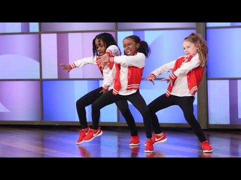 A Terrific Dancing Trio Performs
