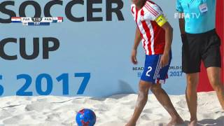 Match 22: Paraguay v Panama - FIFA Beach Soccer World Cup 2017