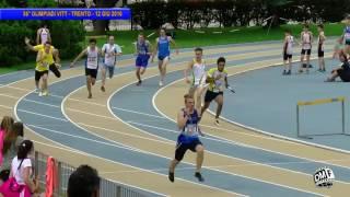 02 | 4x100 Femminile | 56° Olimpiadi VITT | Trento | 12giu2016