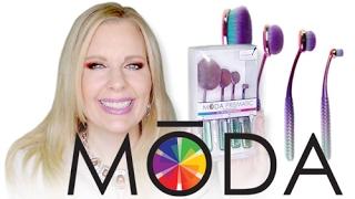 MODA PRISMATIC FACE PERFECTING KIT | Artis Brush Dupes At Walmart?