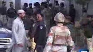 Dunya News - Karachi:Rangers personnel open fire on disputing couple, kill husband