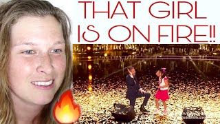 ANGELICA HALE  - THIS GIRL IS ON FIRE   REACTION