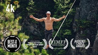 The Terrifying art of Free Solo Slacklining UNTETHERED - Full Documentary