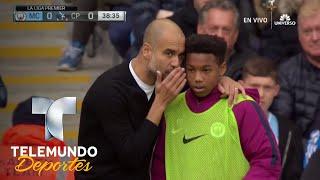 Guardiola le da una charla táctica... ¡al recogepelotas! | Videos Virales | Telemundo Deportes