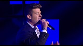 Robin Thicke  -  Back Together - LIVE from NET 4.0 presents Indonesian Choice Awards 2017