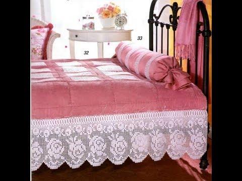 Yatak Örtüsü Modelleri & Tığ işi Dantel Örgü & Crochet