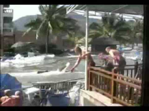 Raw Tsunami Video Phuket Thailand 2004
