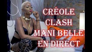 Créole Clash sauvagement Mani Bella en direct (affaire de T-shirt)
