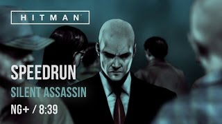 HITMAN Speedrun - 15:17 (8:39 in-game time) [Main Missions/Silent Assassin]