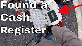 They Threw Away a Cash Register with MONEY Inside