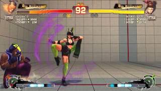 Ultra Street Fighter IV battle: Dee Jay vs Juri