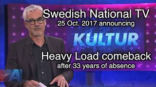 Heavy Load Comeback, National TV News announcing (OFFICIAL VIDEO)