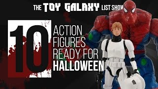 10 Action Figures Ready for Halloween | List Show #29