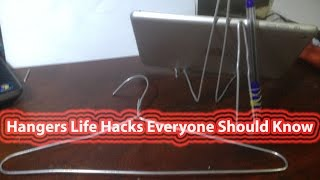 Hangers Life Hacks Everyone Should Know | Amazing Li fe Hacks things using a Clothes Hanger