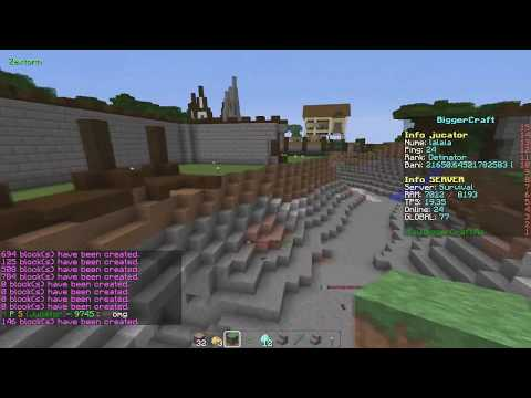 Griefing Play.BiggerCraft.Ro [100 ON]